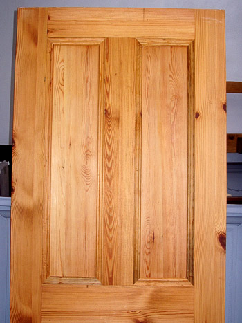 pitch pine door